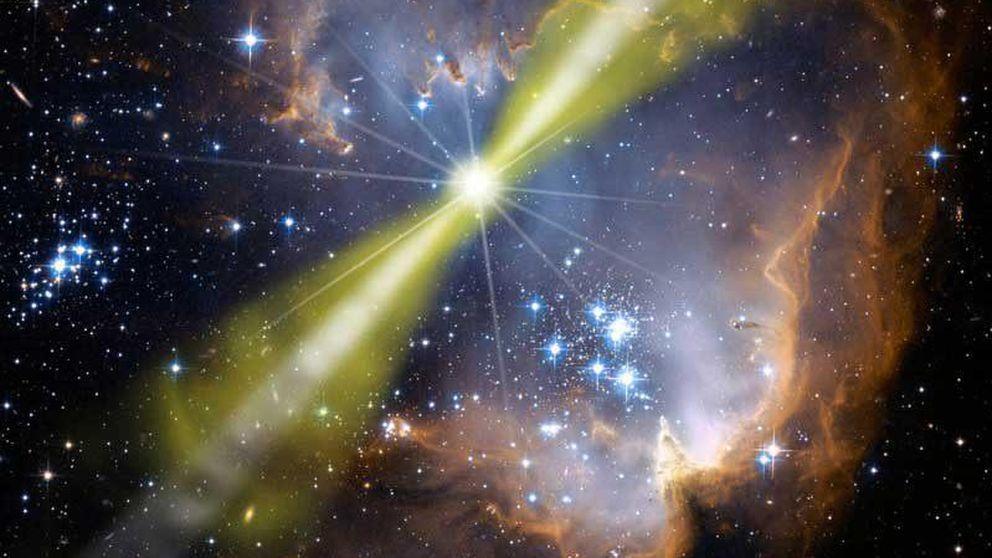 Hipernovas que disparan rayos gamma, un peligro para la vida en la Tierra