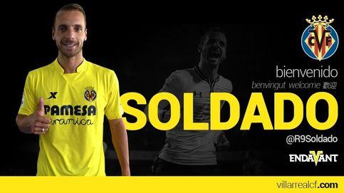 El Villarreal ya tiene delantero: ficha a Soldado para los próximos tres años