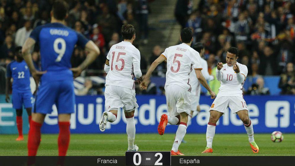 Foto: La Selección impuso su buen juego en Saint-Denis. (Reuters)