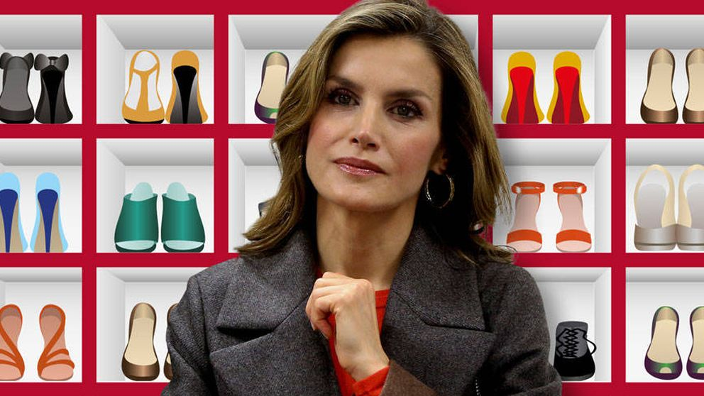 Foto a foto: los 300 pares de zapatos que la Reina Letizia guarda en su armario
