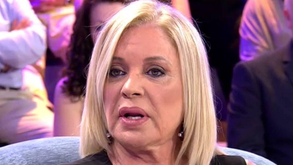Foto: Bárbara Rey, en 'Sábado Deluxe'. (Mediaset).