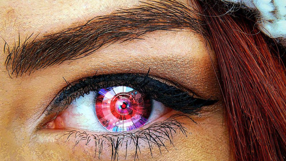 Foto: Ejemplo de un ojo biónico. Foto: Pixabay