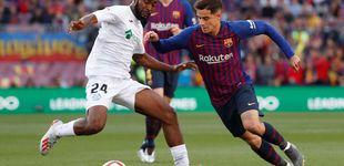 Post de Día negro para Coutinho: pitado y lesionado tras la debacle en Liverpool