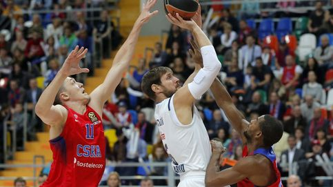 Como en casa, en ningún sitio: el CSKA prueba la solidez del Madrid como local