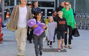 Angelina Jolie y Brad Pitt contratan 'ciber guardaespaldas' para sus hijos