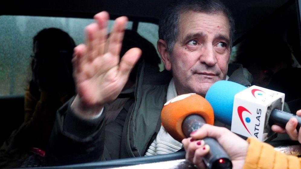 Foto: Salida de prisión del líder de los Miguelianos el pasado cinco de diciembre. (EFE)