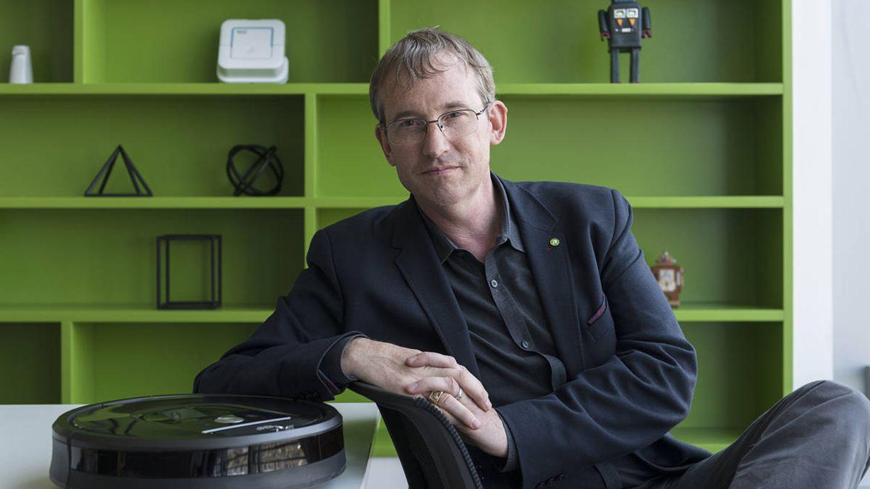 Colin Angle, el CEO de iRobot.