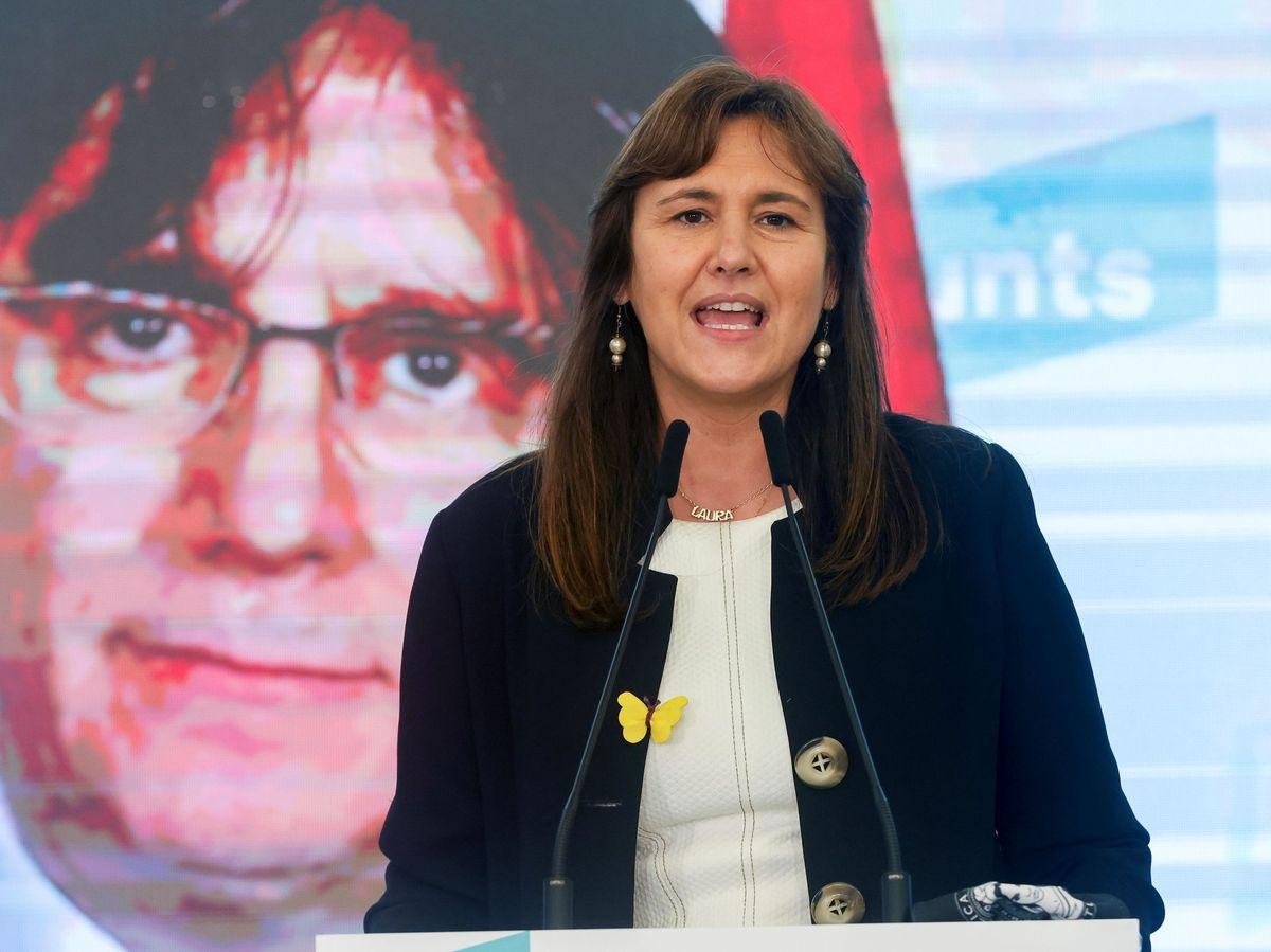 Foto: La candidata de JxCAT a la presidencia de la Generalitat, Laura Borràs. (EFE)
