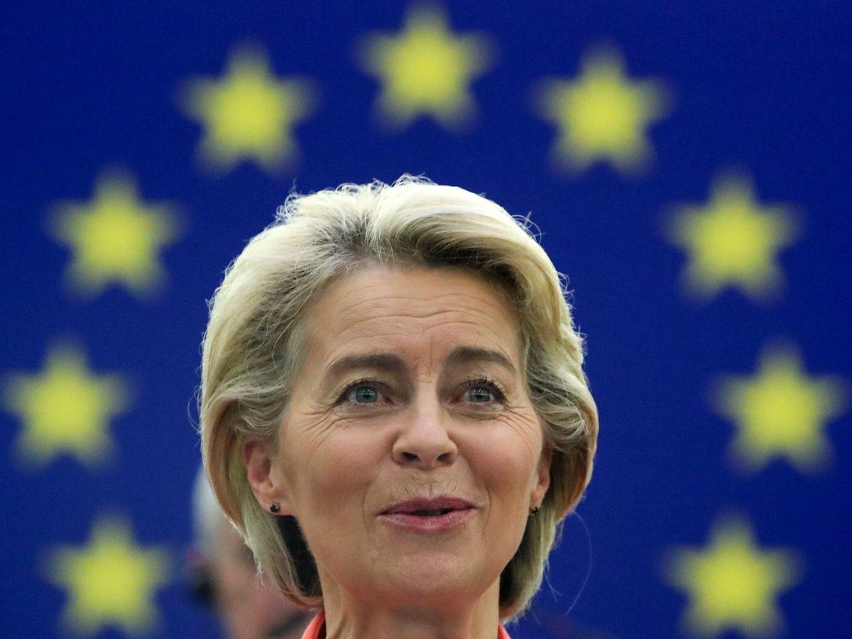 Foto: La presidenta de la Comisión Europea este miércoles. (Reuters)