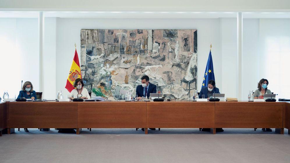 Foto: Reunión del Consejo de Ministros.