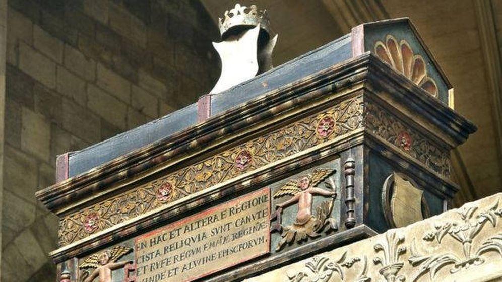 Foto: Los cofres encontrados contenían los restos de, al menos, 23 personas (Foto: Catedral de Winchester)