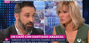Post de Tensión entre Griso y Santiago Abascal (Vox) al hablar de violencia de género