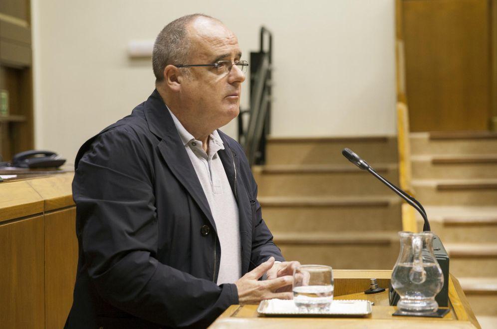 Foto: El portavoz del PNV, Joseba Egibar, durante una intervención en el Parlamento Vasco. (EFE)