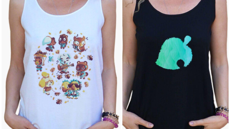 Camiseta de Animal Crossing. (Cortesía)