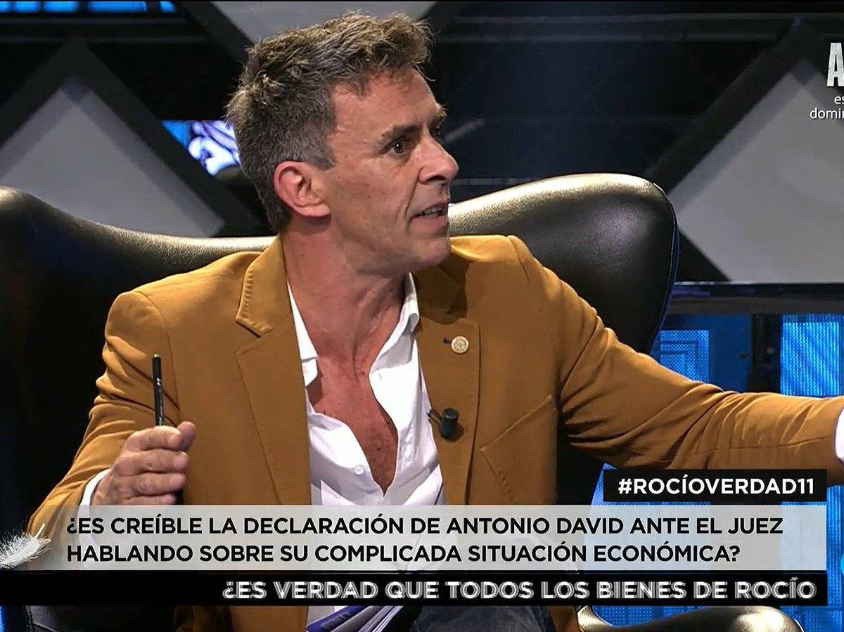 Foto: Alonso Caparrós, en 'Rocío, contar la verdad'. (Mediaset)