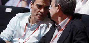 Post de Zapatero participa en el acto central del PSC con Sánchez, Iceta y Borrell