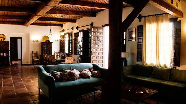 Vista interior de la finca El Recreo de San Cayetano. (Web oficial)