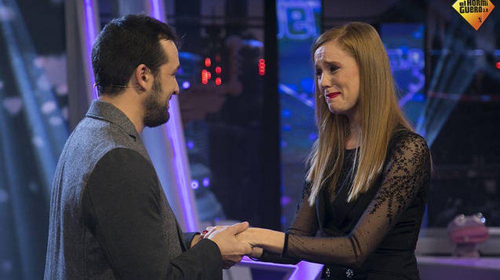 Foto: María Castro y su novio. (7yAcción)