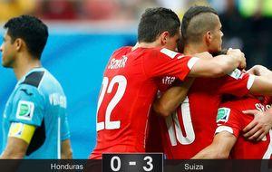 Shaqiri pone a Suiza en octavos donde se medirá a Argentina