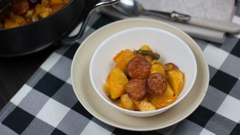 Patatas a la riojana, un clásico para resistir al invierno