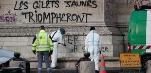 Post de París, paisaje después de la batalla