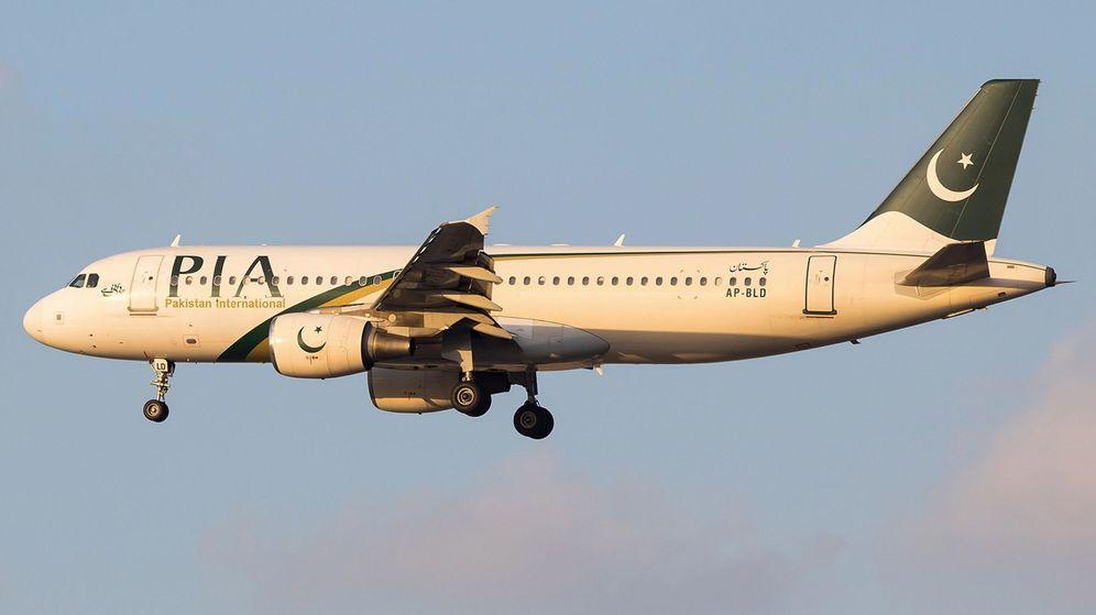 Foto: Foto de archivo de un avión de Pakistan International Airlines. (EFE)