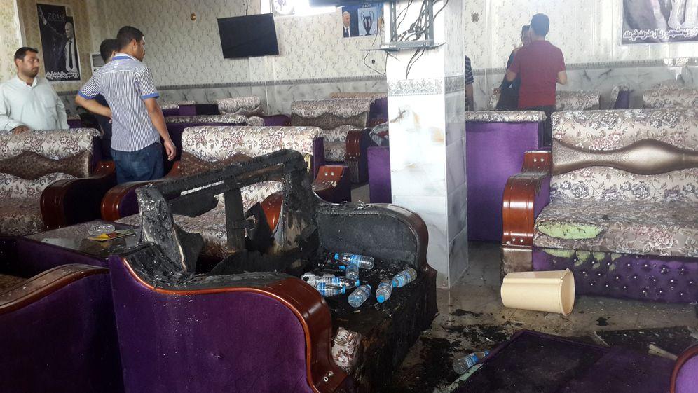 Foto: El café atacado por los yihadistas (Reuters)