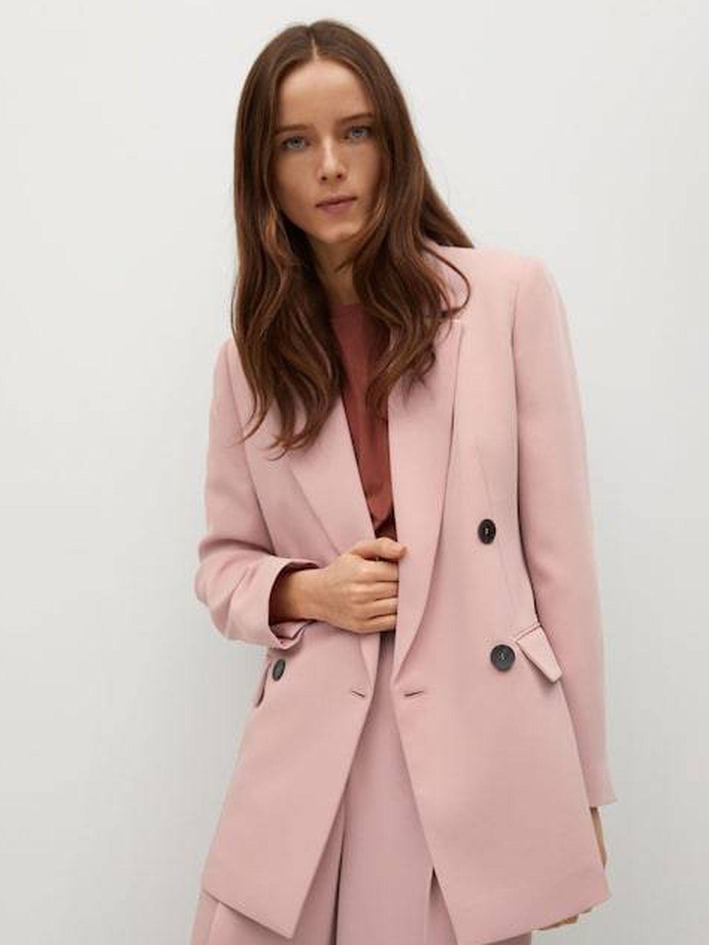 La chaqueta de Mango. (Cortesía)