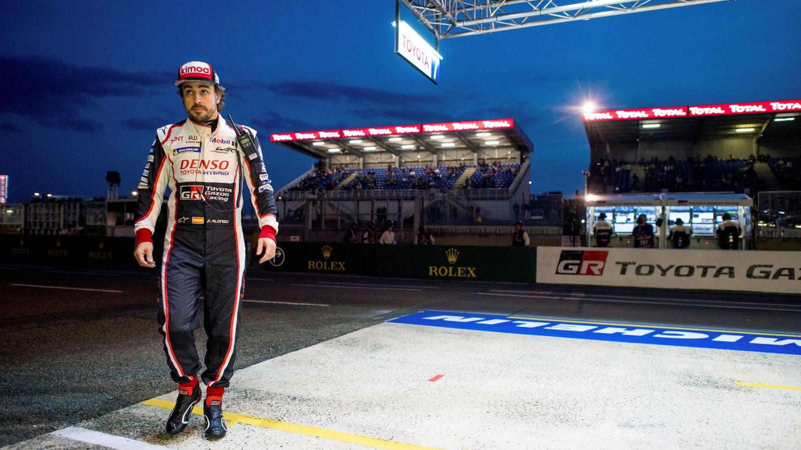 Foto: Alonso sigue contento y en busca de adquirir más experiencia de cara al fin de semana (EFE)