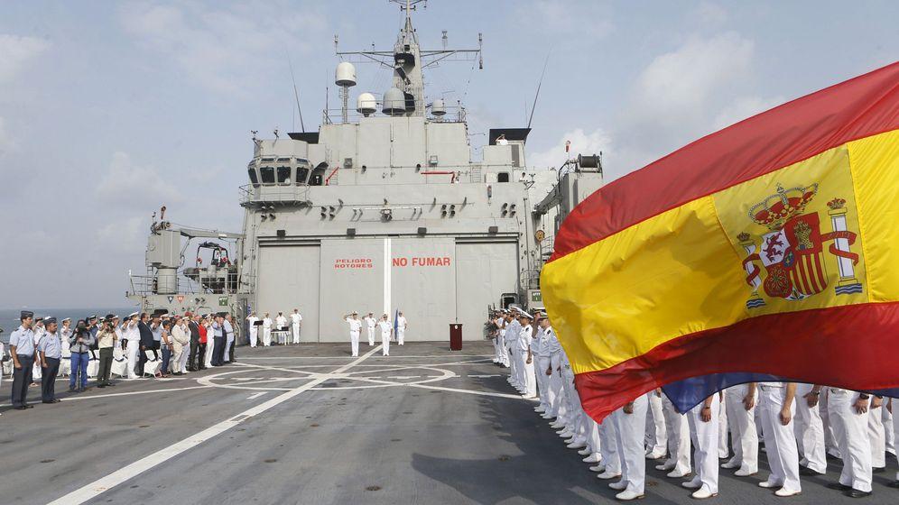 Foto: Tropas españolas en el extranjero. (EFE)