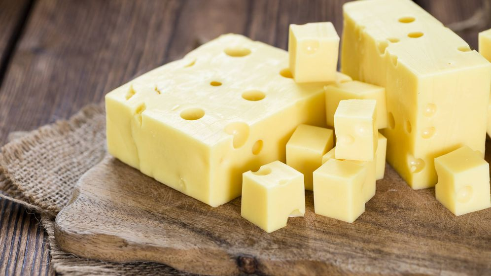 Foto: Queso emmental. (iStock)