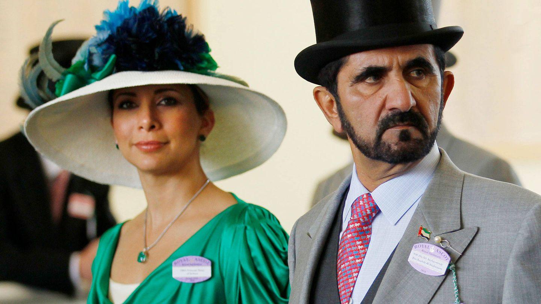 La princesa Haya y el emir de Dubái. (Reuters)