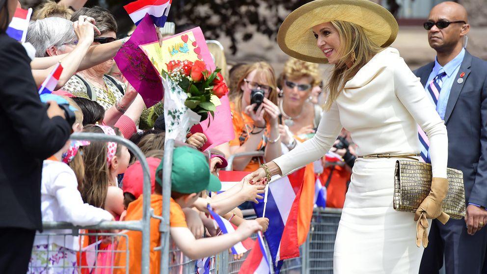 La reina Máxima de Holanda levanta pasiones en Canadá