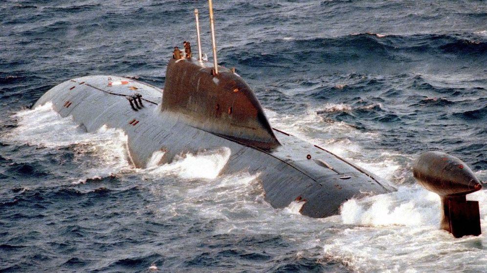Foto: Submarino SSN K-322 Cachalot, de la clase Akula (US NAVY)