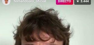 Post de La guardia baja de Fernando Alonso y su teléfono móvil hecho polvo