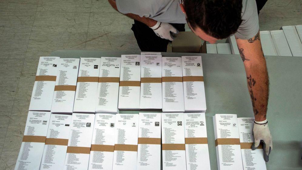 Foto: Papeletas de las elecciones del 26M (EFE)
