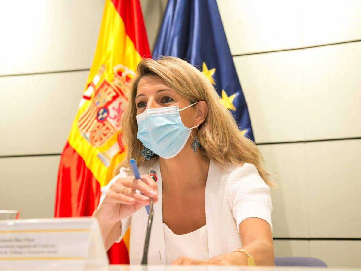 Foto: La vicepresidenta segunda del Gobierno y ministra de Trabajo y Economía Social, Yolanda Díaz (EFE)
