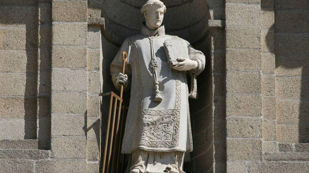 Foto: Imagen de San Lorenzo en el monasterio de El Escorial.