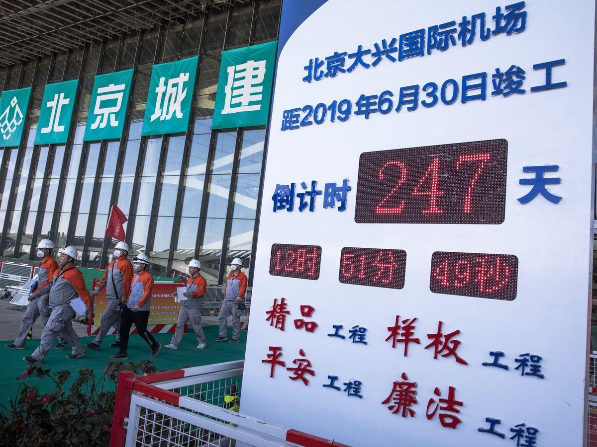 Foto: Aeropuerto internacional de Daxing en Pekín, en una imagen de archivo. (EFE)