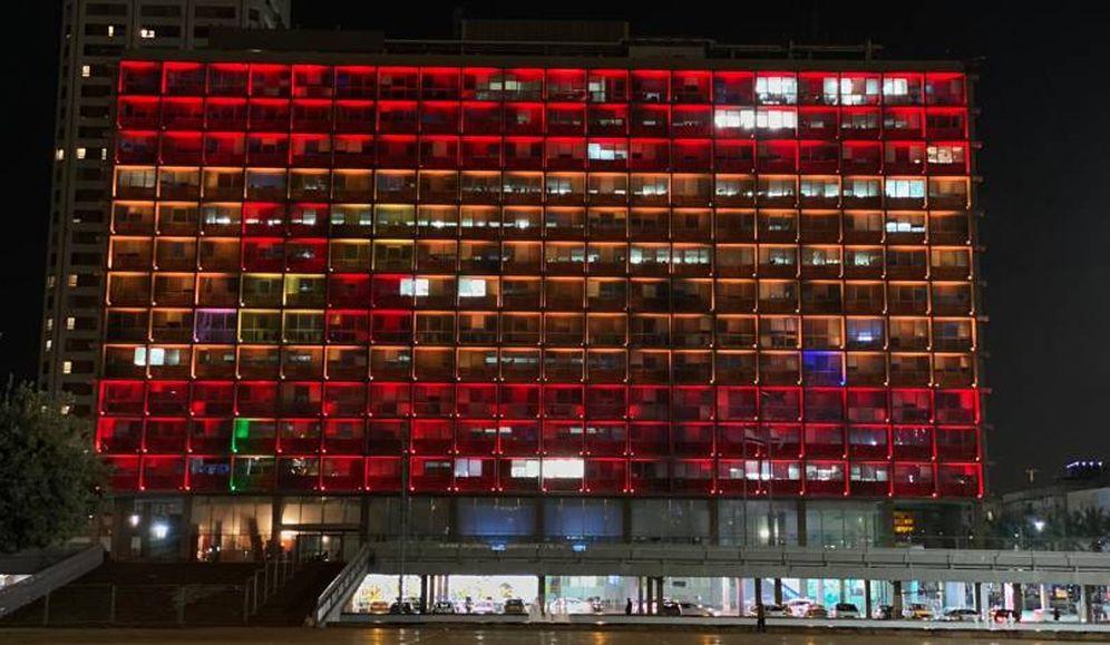 Foto:  Imagen divulgada por Tel Aviv.