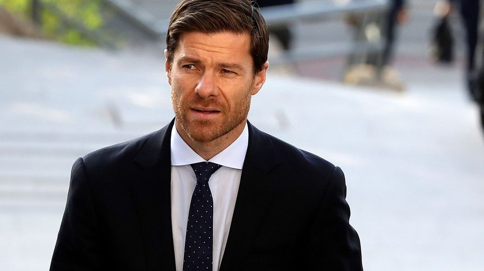 Foto: Xabi Alonso, en la Audiencia de Madrid. (EFE)