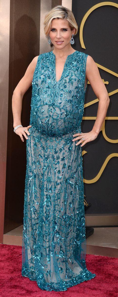 Elsa Pataky vestida por la firma 'Elie Saab' el día de los Oscar