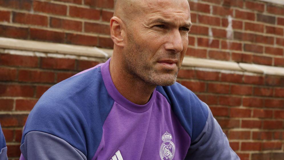 Foto: Zinedine Zidane (Jeff Kowalsky/EFE)