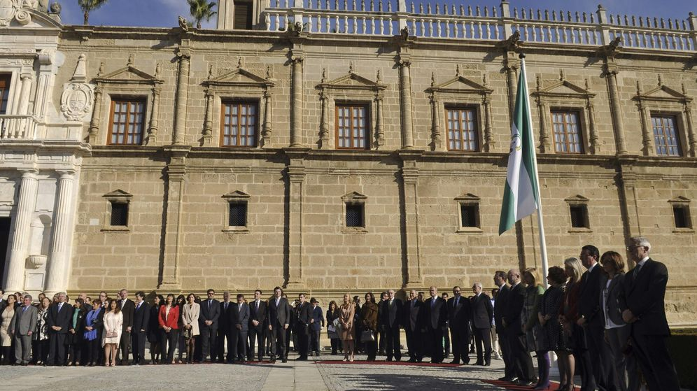 Foto: Celebración del Día de Andalucía en el Parlamento en 2014 (EFE)