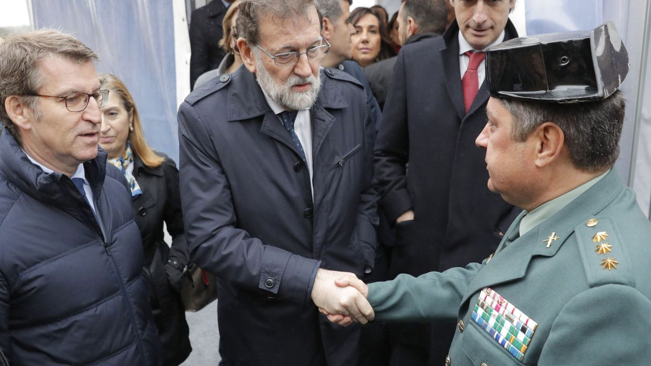 Rajoy felicita al Guardia Civil responsable de resolver el caso Diana Quer