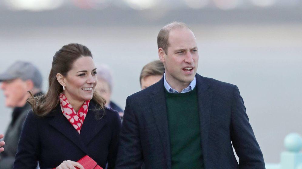 Foto: Los duques de Cambridge visitan el sur de Gales. (Cordon Press)