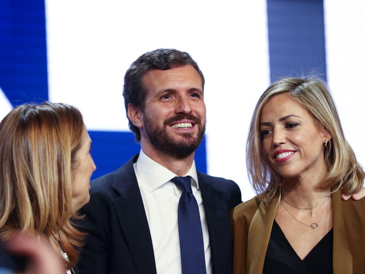 Foto: Pablo Casado e Isabel Torres, en una imagen de archivo. (EFE)