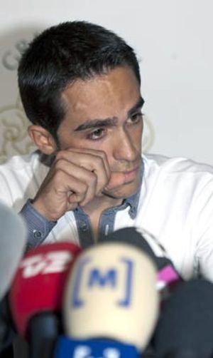 Contador presenta las alegaciones a la propuesta de sanción que le hizo la Federación