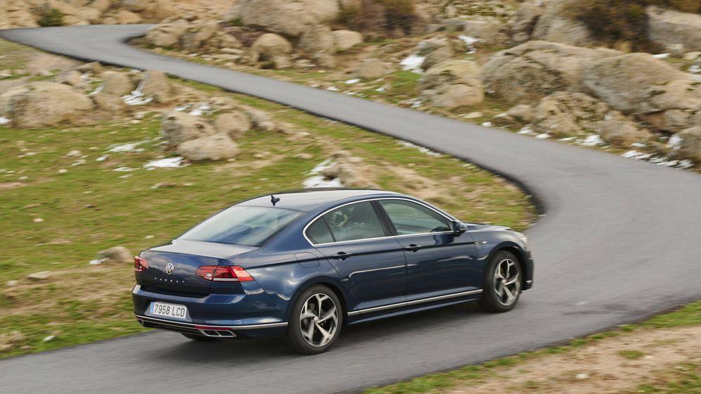 Foto: El nuevo Volkswagen Passat se ofrece con tres carrocerías: berlina, familiar y Alltrack (todocamino).