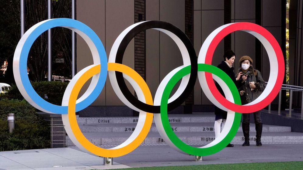 Foto: Sede de los Juegos Olímpicos cerca del Estadio Olímpico de Tokio (EFE)